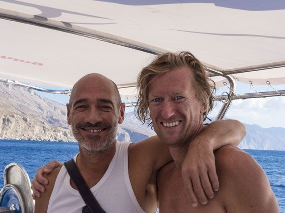 Jean-Marc Barr et Gregory Forstner