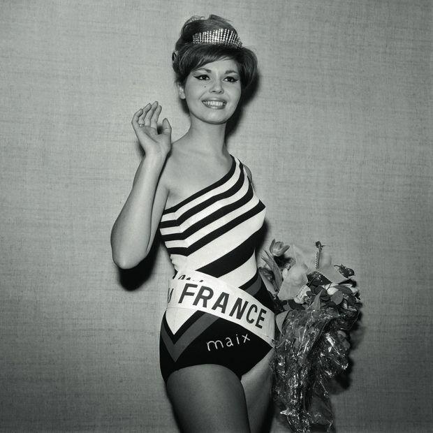 1964 : chignon crêpé et œil de biche, Arlette Collot gagne le diadème.