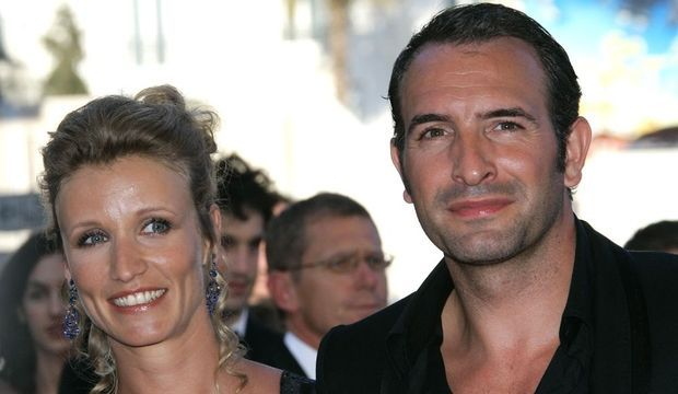 2-photos-people-cinema-Alexandra Lamy Jean Dujardin--