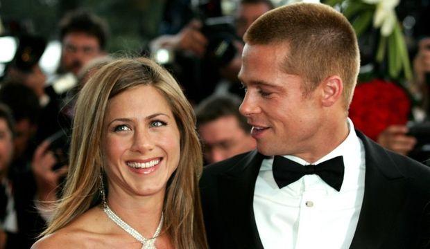 2-photos-people-cinema-Brad Pitt Jennifer Aniston--