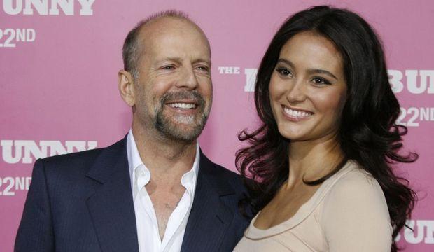 2-photos-people-cinema-Bruce Willis Emma Heming --