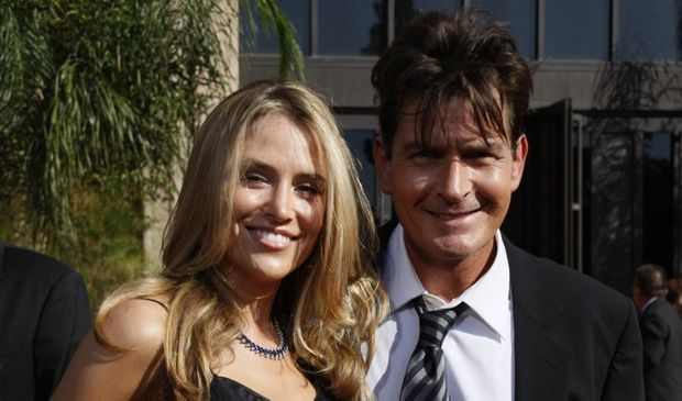 2-photos-people-cinema-Charlie Sheen et Brooke Mueller--
