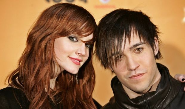 2-photos-people-musique-Ashlee Simpson et Pete Wentz--