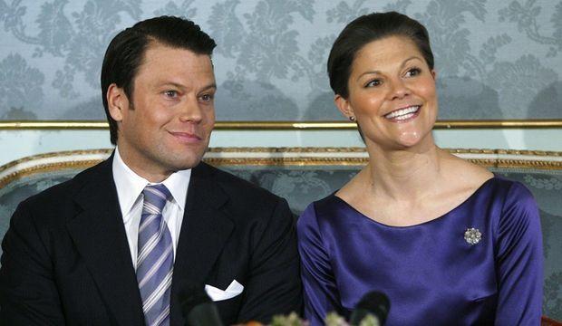 Victoria de Suède et Daniel Westling.