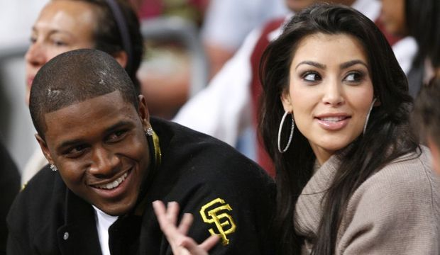 2-photos-people-tv-Kim Kardashian Reggie Bush--