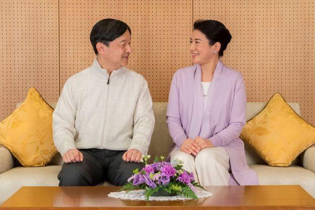 Le prince héritier Naruhito et la princesse Masako à Tokyo, le 17 février 2019