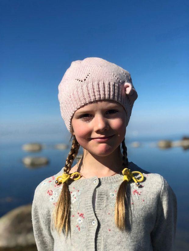 La princesse Estelle de Suède sur l'île d'Oland, à Pâques 2019