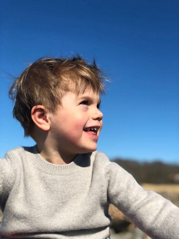 Le prince Oscar de Suède sur l'île d'Oland, à Pâques 2019