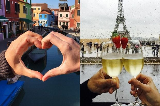 En Italie ou en France, le duo est inséparable