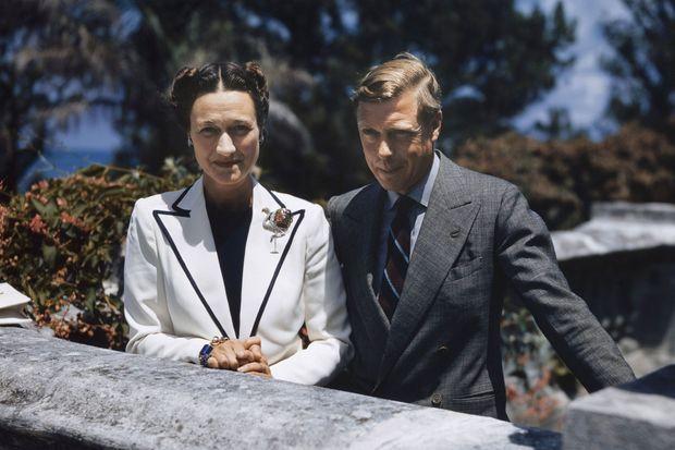 Le duc et la duchesse de Windsor lors d'un séjour aux Bermudes, en 1940