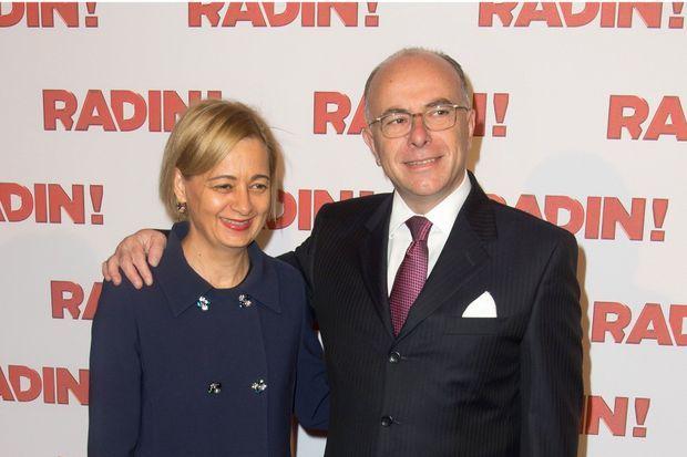 """Bernard et Véronique Cazeneuve à la première du film """"Radin!"""", en septembre dernier"""