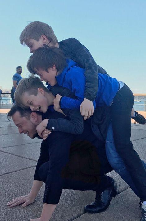 Elon Musk, un père modèle.