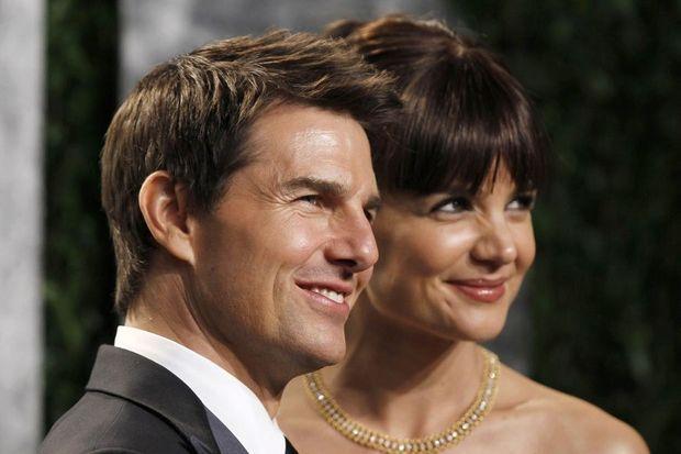29.06 Katie Holmes et Tom Cruise en février 2012. 930620-