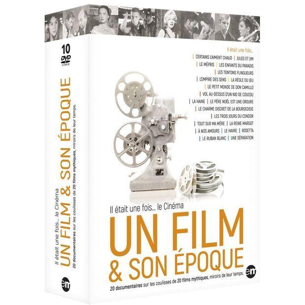 """Le coffret 10 DVD """"Un film & son époque""""."""