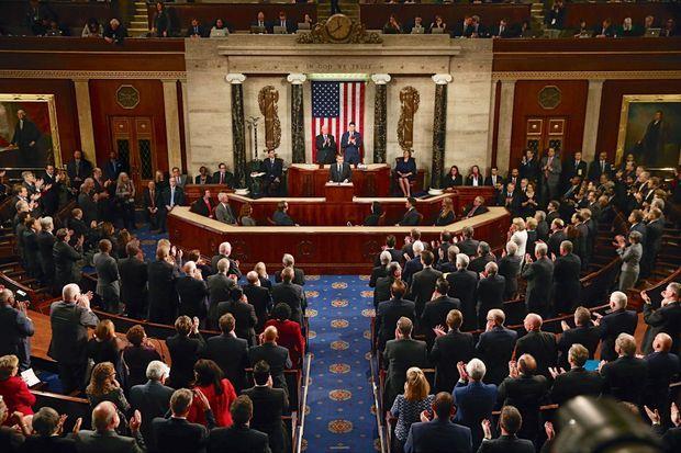 Grand oral face aux 535 représentants et sénateurs réunis en Congrès, mercredi 25 avril.
