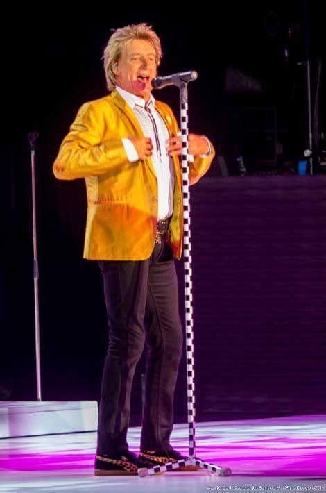 Rod Stewart au Monte Carlo summer festival 2016.