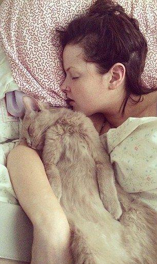 Seul le chat de la famille est ravi du syndrome qui frappe sa jeune maîtresse.