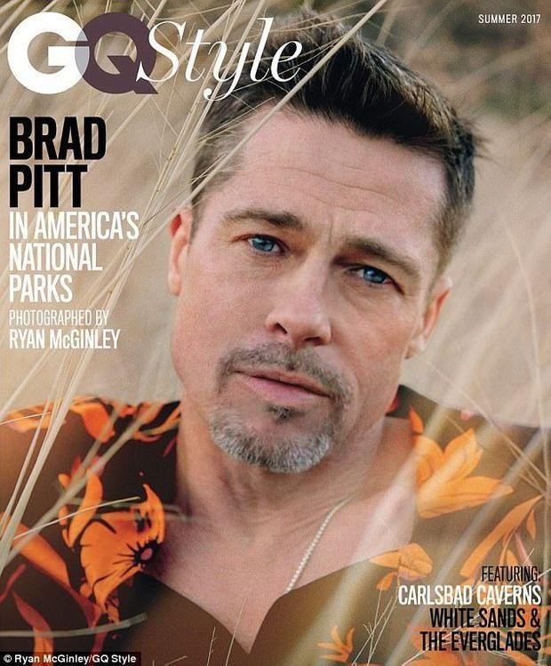 Brad Pitt fait la Une d'un magazine, une première depuis sa séparation d'avec Angelina Jolie.