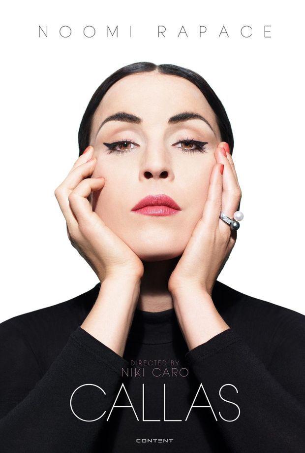 """L'affiche du film """"Callas"""""""