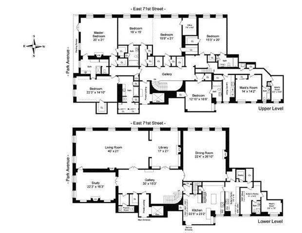 Le plan de l'appartement.