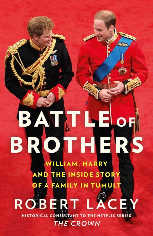 La nouvelle biographie de Robert Lacey revient sur l'éloignement et la dispute survenus entre le prince William et le prince Harry