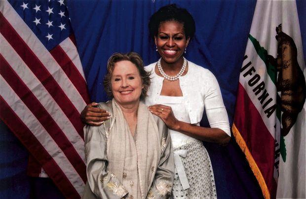 A Berkeley, en mai 2012, pendant la campagne pour la réélection de Barack Obama.