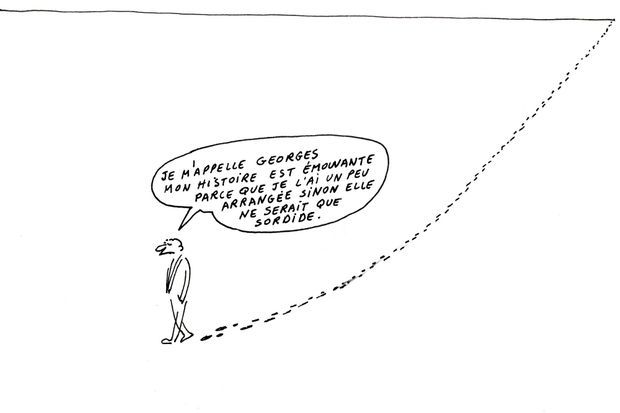 A sa mort, « L'Humanité » rend un vibrant hommage à Wolinski illustré de ce dessin.