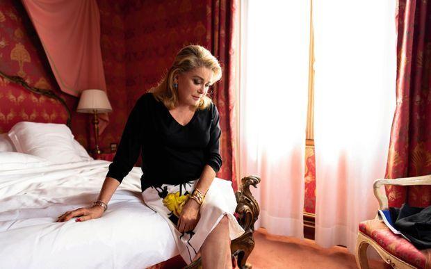 A Venise, dans sa suite de l'hôtel Bauer.