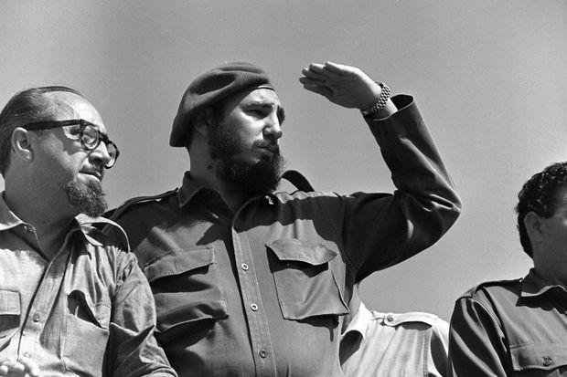 Osvaldo Dorticos et Fidel Castro en juillet 1962.