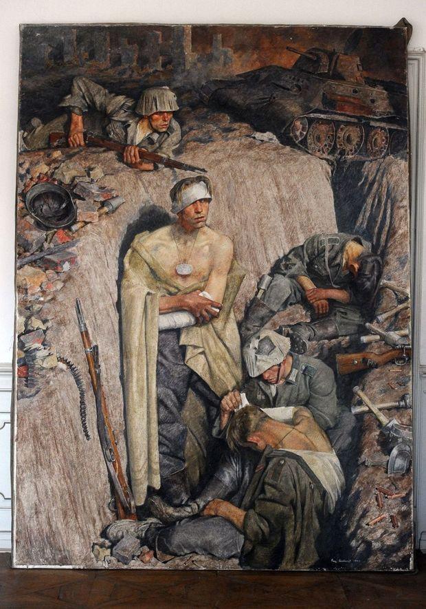 Hitler. Sa collection de peintures découverte