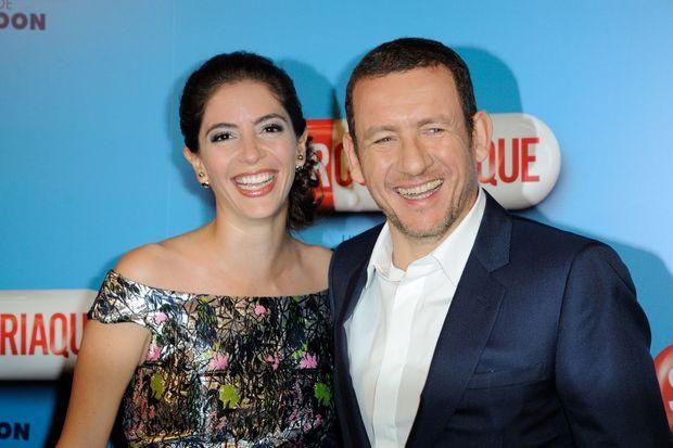 Dany Boon et sa femme Yael à Paris le 25 février 2014
