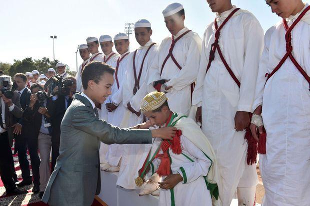 Le prince Moulay El Hassan du Maroc à Rabat, le 29 mai 2016