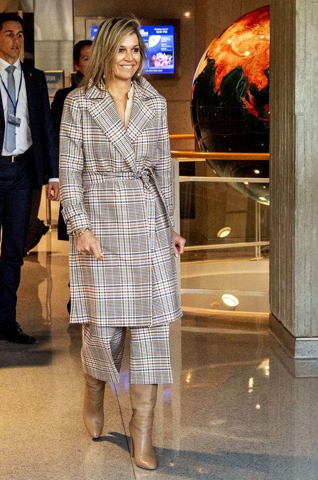 La reine Maxima des Pays-Bas à Washington, le 21 avril 2018