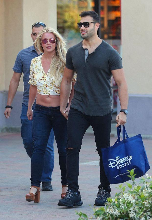 Britney Spears et son petit ami Sam Asghari à Los Angeles le 17 mai 2019