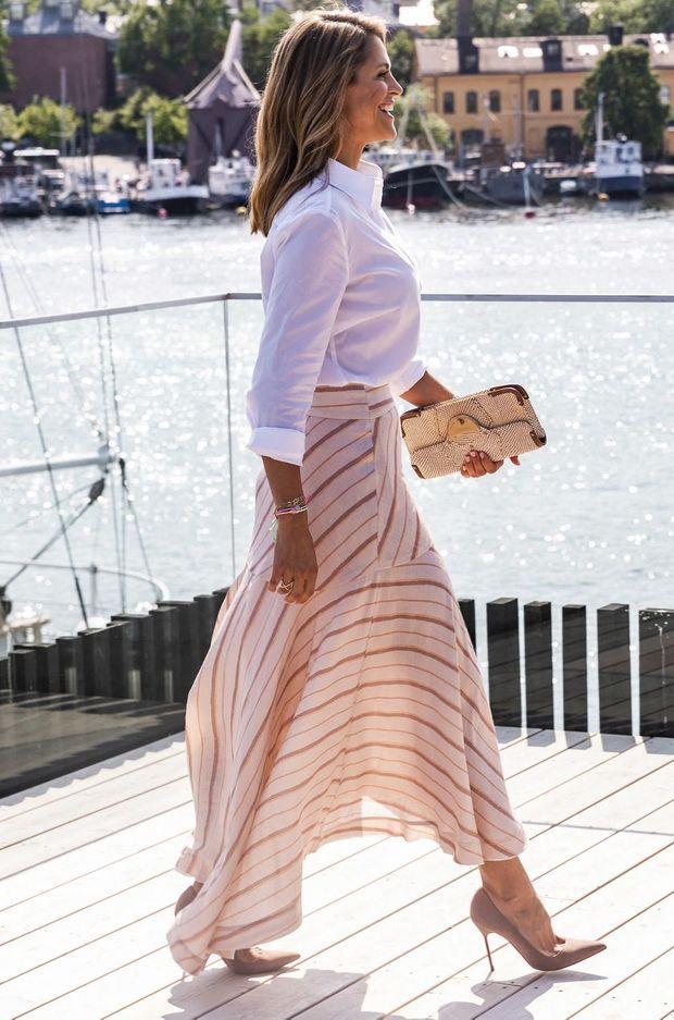 La princesse Madeleine de Suède à Stockholm, le 4 juin 2019
