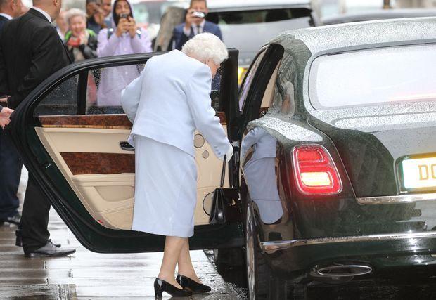 La reine Elizabeth II de sortie à Londres, le 13 juin 2019