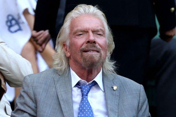 Le milliardaire anglais Richard Branson