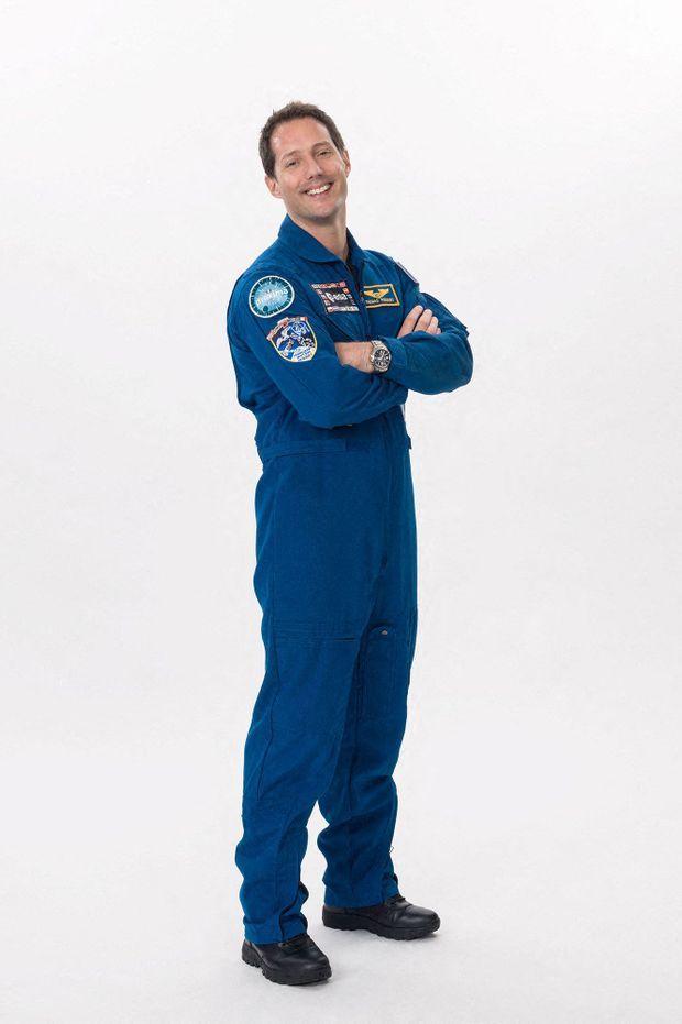 Photo officielle de Thomas Pesquet pour Crew-2.