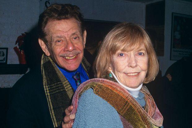 Jerry Stiller et Anne Meara en 2000