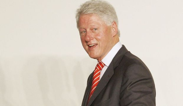 actu-monde-Bill Clinton souriant--