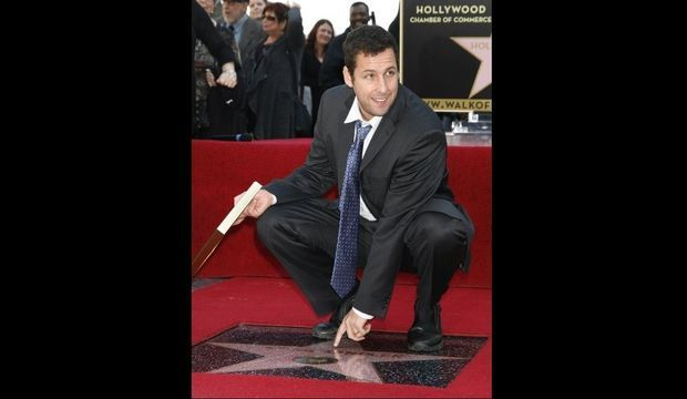 Adam Sandler Walk of Fame-