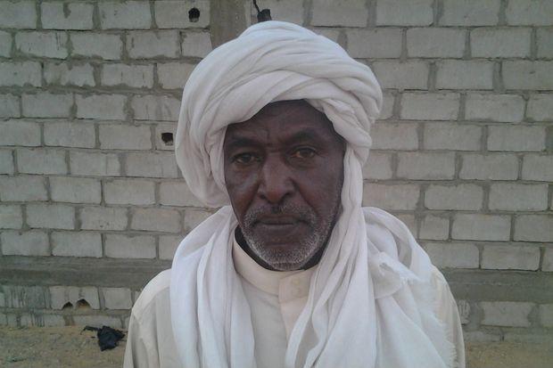 Adam Tcheke Koudigan, le 9 septembre 2016 au Niger. Jadis, le Leader du MJRN a combattu avec les FARS aux cotés de Barka Wardougou.
