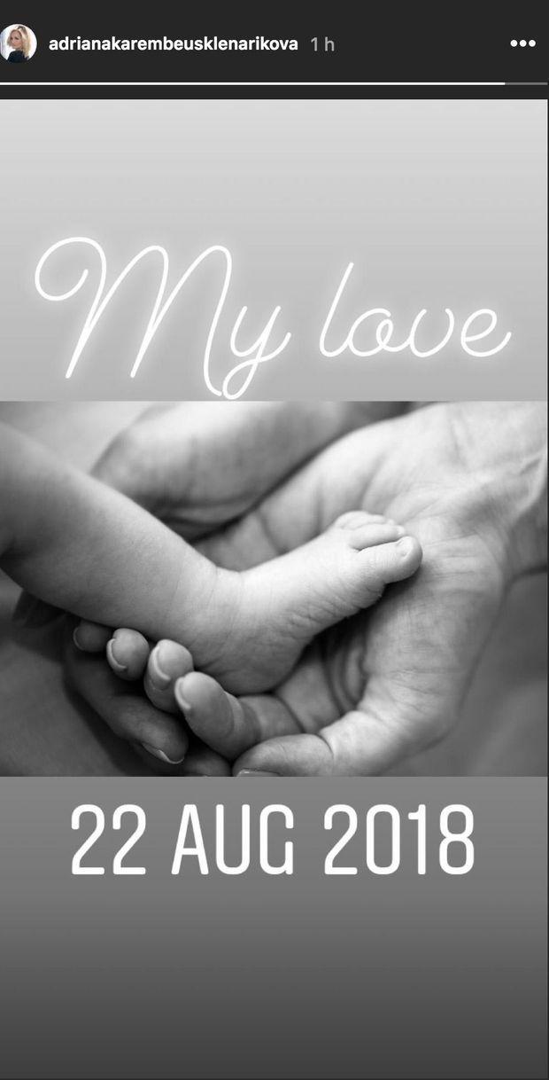 Adriana Karembeu partage une photo de sa fille Nina