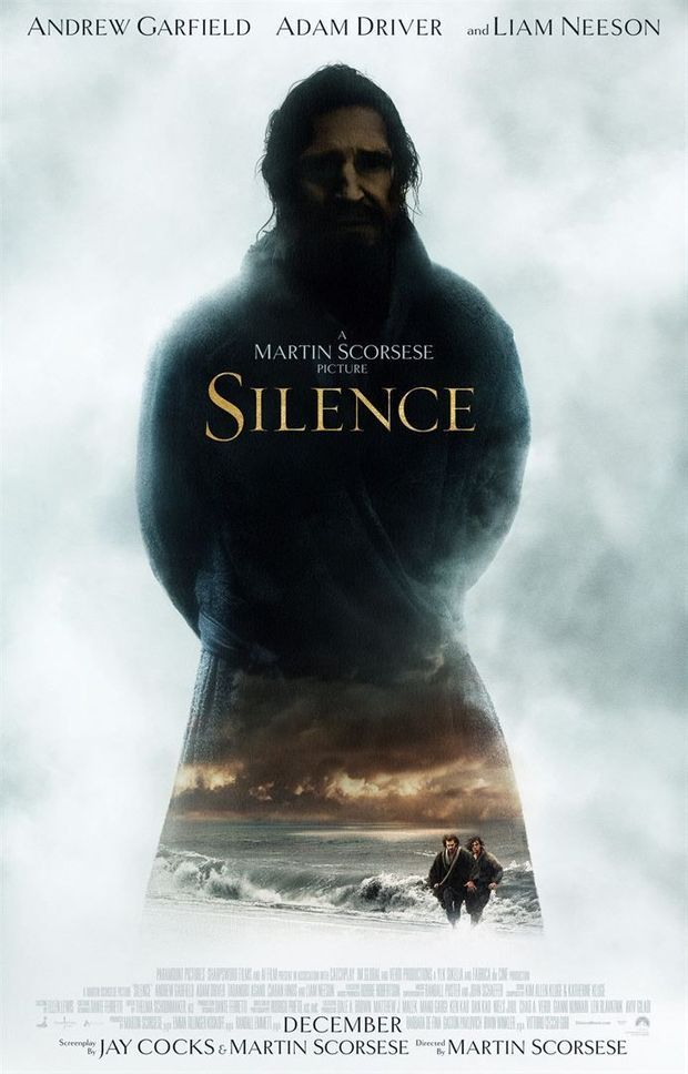 """L'affiche de """"Silence"""""""