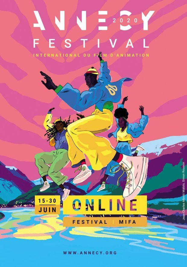 L'affiche du 44e Festival d'Annecy.