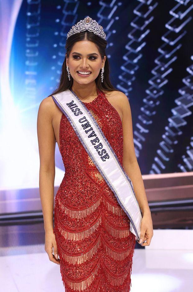 Miss Mexique Andrea Meza a été couronnée Miss Univers 2020