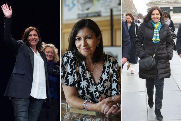 Anne Hidalgo, en mars 2020, en juin 2019 et en février dernier