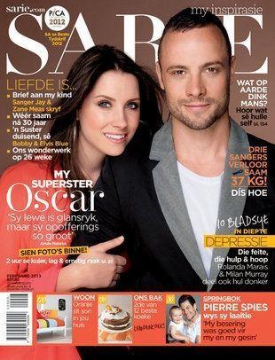 Aimee et Oscar Pistorius-