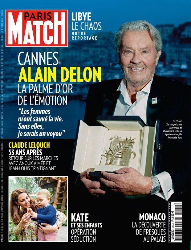 La couverture de Paris Match numéro 3654.