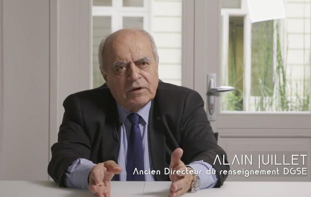 """Alain Juillet, interviewé dans """"Ovnis: une affaire d'Etats"""""""
